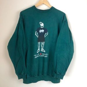 Vintage USA Guyz Sportswear Crewneck Sweatshirt